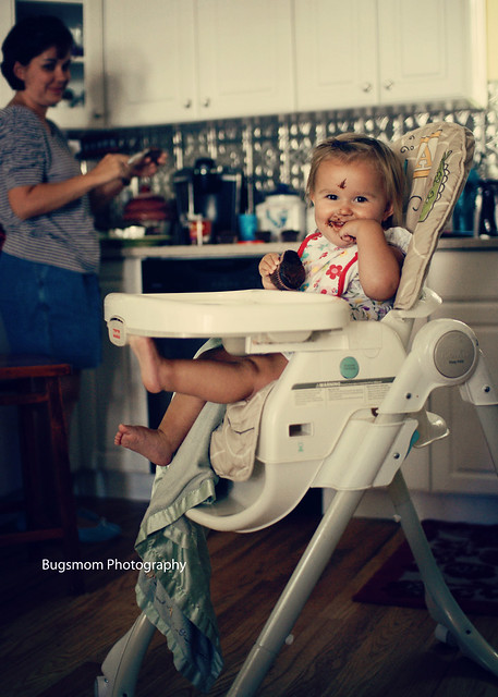 highchair lily