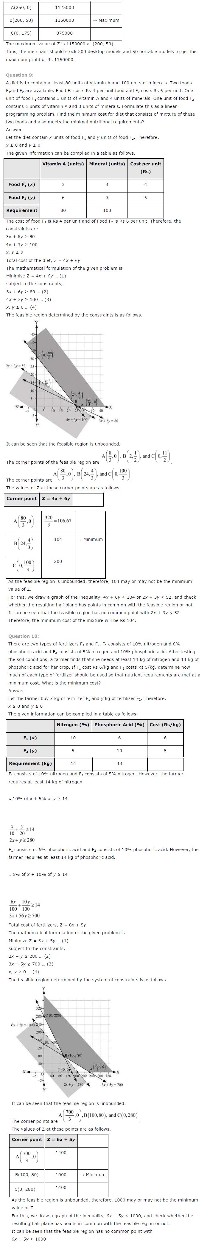 CBSE NCERT Solutions for Class 12th Maths