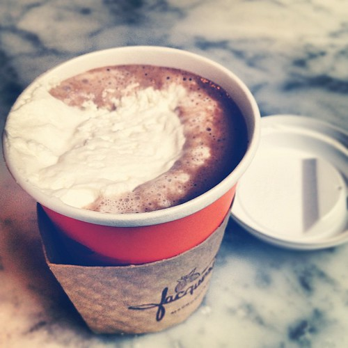 Jacques Torres's wicked hot chocolate :D