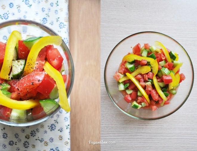 Isreali Salad mix