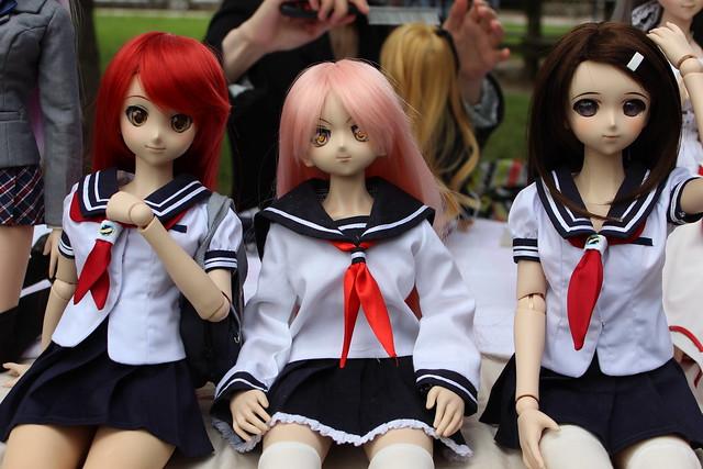 Sailor girls!
