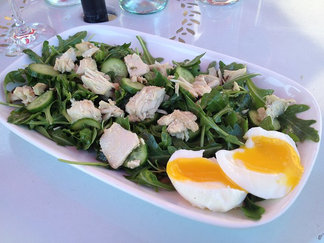 Albacore confit salad - Toast