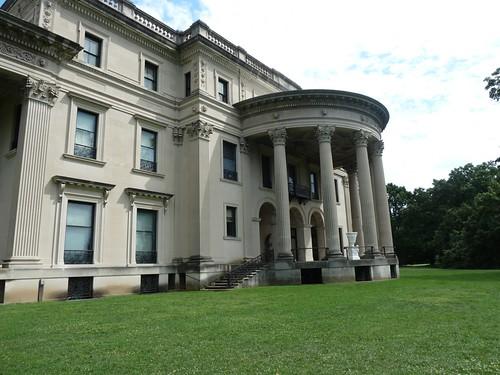 Rear facade, Vanderbilt Mansion.