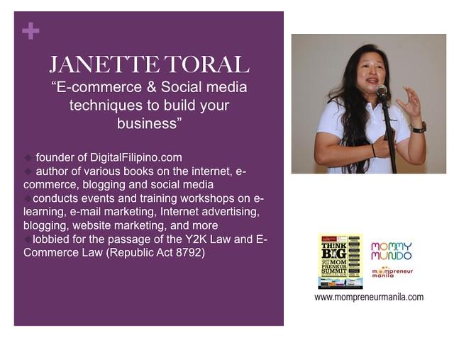 Janette Toral profile