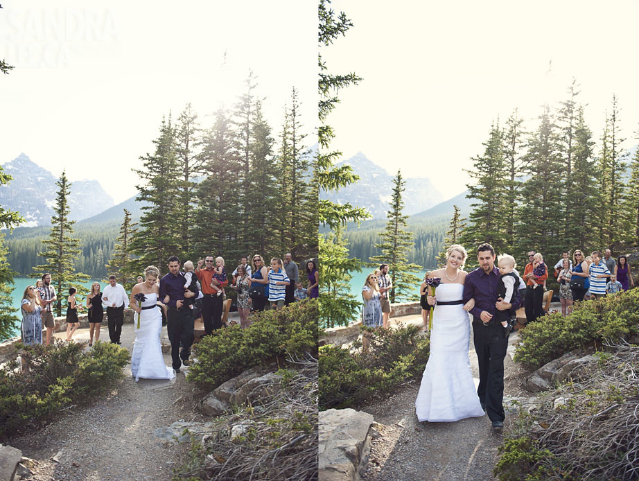 Shane + Nicki : Lake Moraine, Alberta