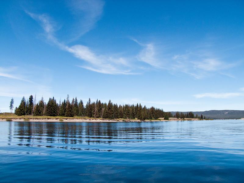 Stevenson Island, Yellowstone Lake