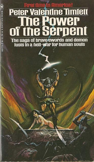 The power of the serpent Peter Valentine Timlett