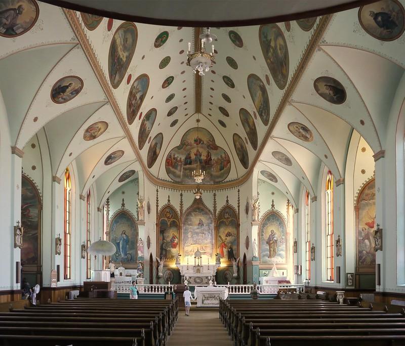 Interior #1, St. Ignatius Mission, MT