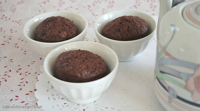 Oat double chocolate muffins recipe