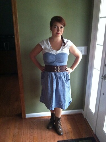 8/13/12 Outfit: Today I Look Like Annie Oakley