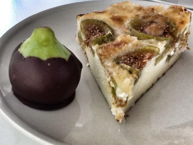 Tarta de Higos y Marcarpone