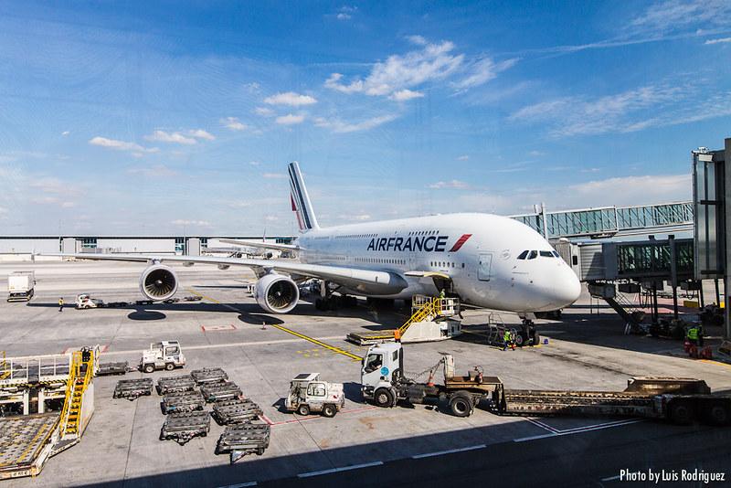 A380 Air France en un vuelo París-Tokio