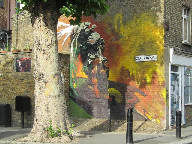 Club Row street art
