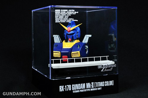 Banpresto RX-178 Mk-II TITANS Head (Bust) Display (10)