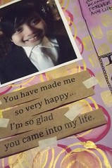 My Altered Book: A Happy Life - All about my Little Guy