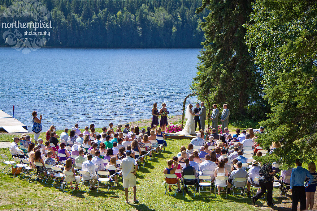 Norman Lake Wedding Ceremony