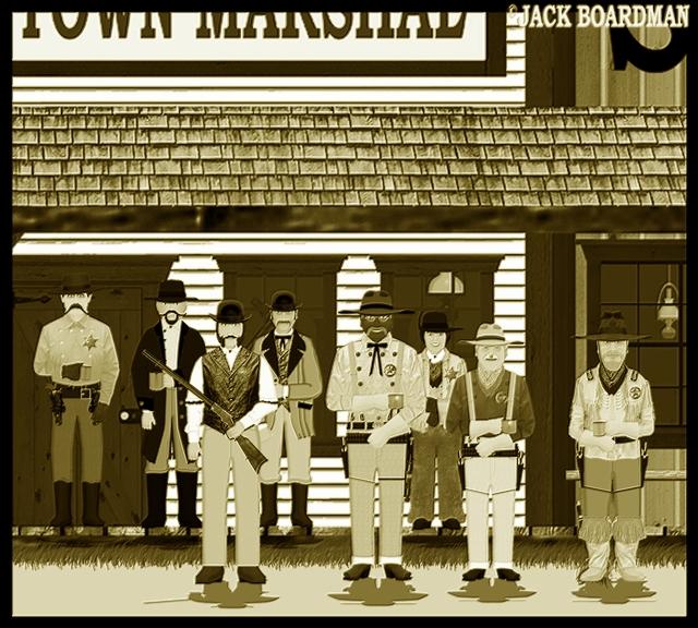 Wichita Town Marshal Phineas Blusterwart ©2012 Jack Boardman
