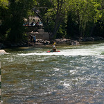 Kayaker in Salida