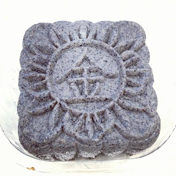 Black Sesame #mooncakes #nomnomnom
