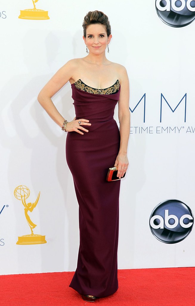 Tina Fey 2012 Emmy Awards