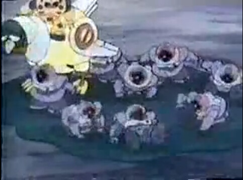 American Unaired Gundam Series Doozy Bots (10)