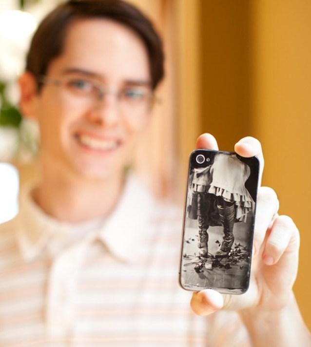 Colodion Humedo en un iPhone 4s