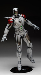 HT 1-6 Iron Man Mark IV (Hot Toys) Custom Paint Job by Zed22 (7)