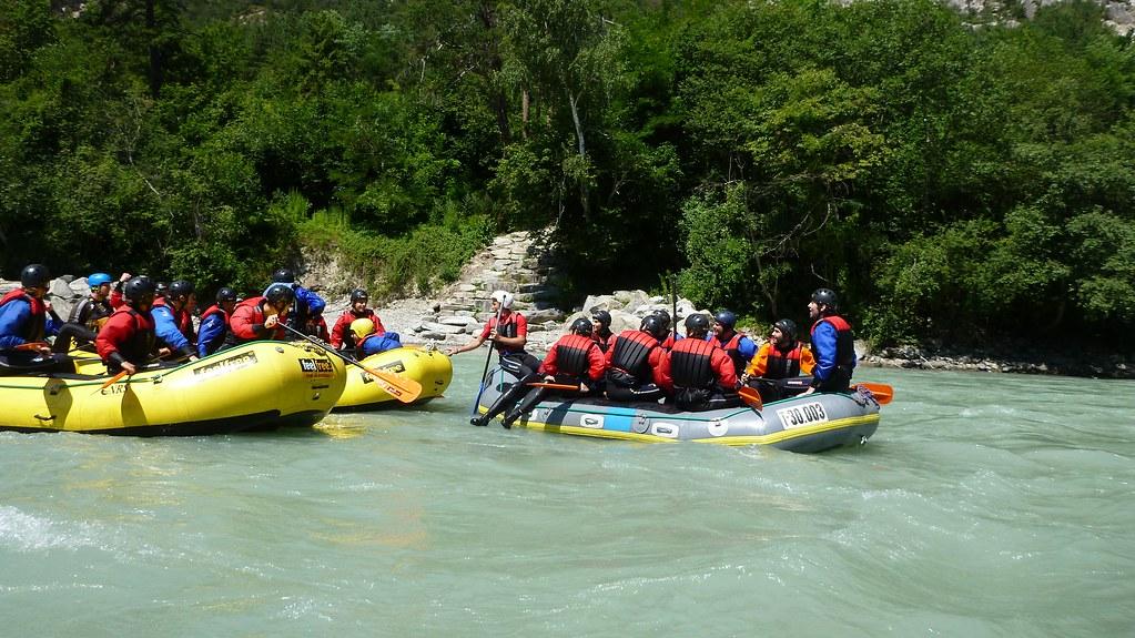 White Water Rafting- Tyrol, Austria