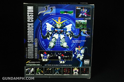 SDGO Sandrock Custom Unboxing & Review - SD Gundam Online Capsule Fighter (4)