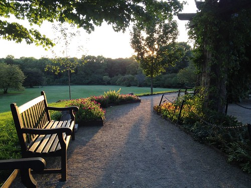 bench at Boerner