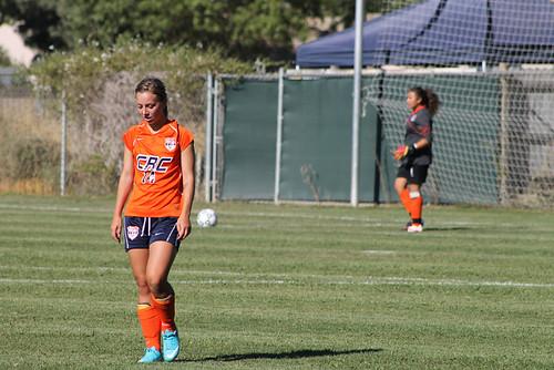 Rachel Dube soccer