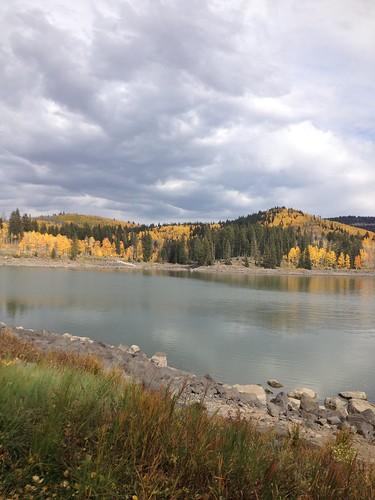 Mesa Lakes and Thunder Clouds