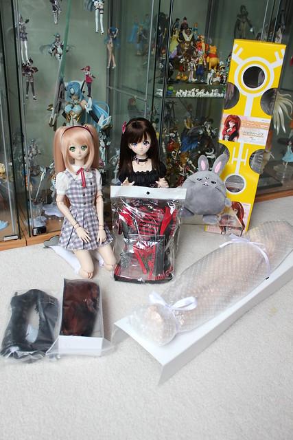 Stuff in Natsuki's box