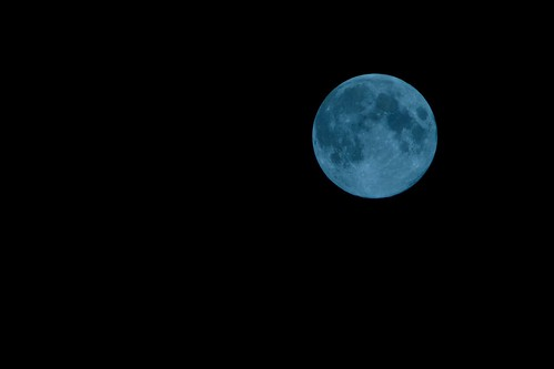 Day 244/366 : The Blue Moon by hidesax