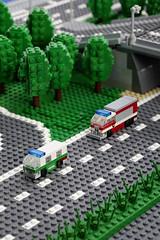 Polizei & Feuerwehr / Police & Fire Engine
