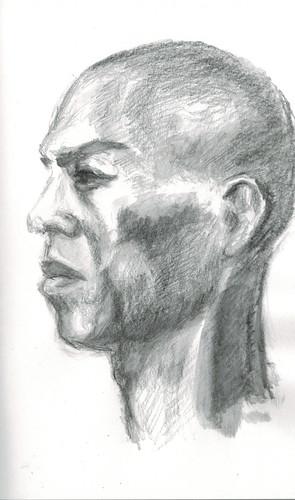 male profile by husdant
