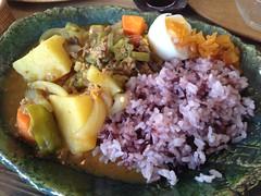 秋野菜のカレー