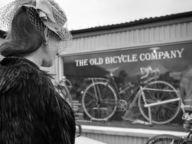 The Lady and the bicycle