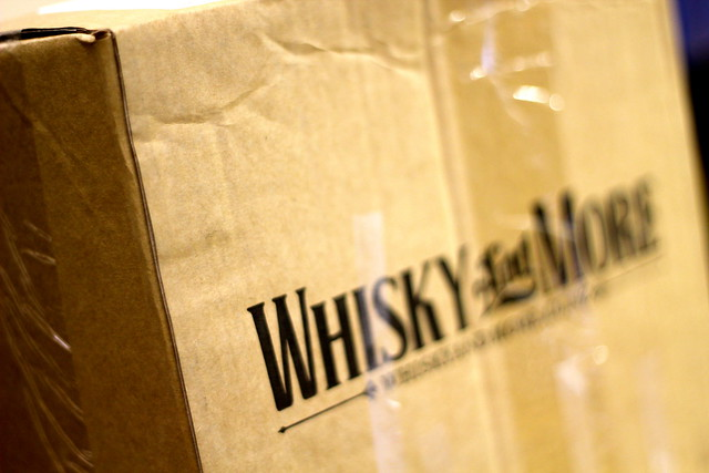 Friday: delivery of whisky and whiskey