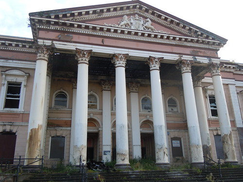old Belfast courthouse