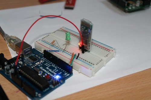 Bluetooth module experiment (5)