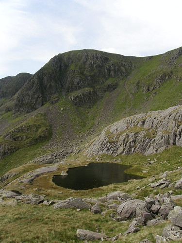 High Crag and Hard Tarn