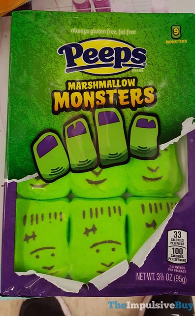 Peeps Marshmallow Monsters