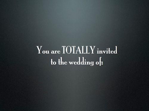 Girls example of lesbian wedding invitation the