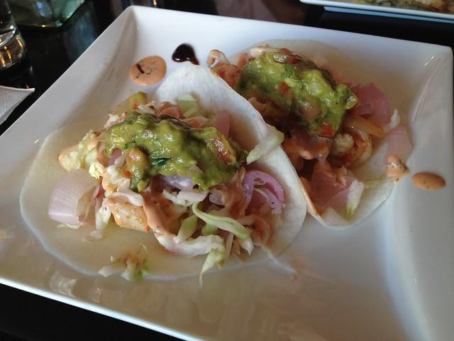 Shrimp tacos - Poquito