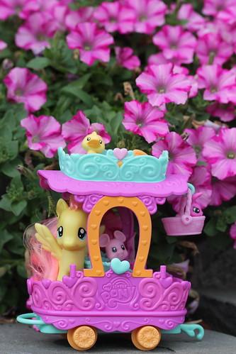 Fluttershy Nursery Cart