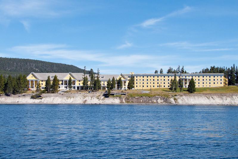Lake Hotel by the Yellowstone Lake