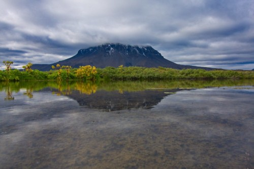 Herdubreid - The National Mountain of Iceland