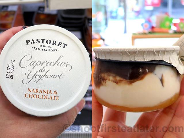 Pastoret Caprichos de Yoghourt- orange & chocolate