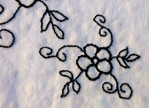 skirt embroidery